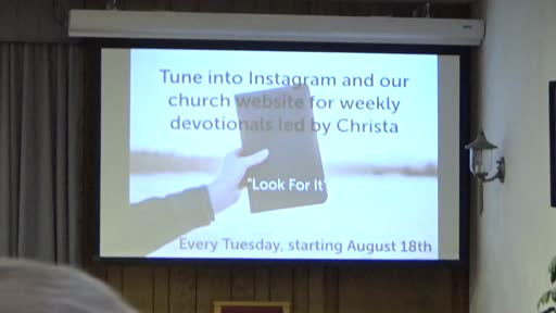 August 09 2020 Sunday Service Mount Union Church Of The Brethren Gsr7plpipbc
