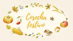 Harvest Festival Yellow  PowerPoint image 3