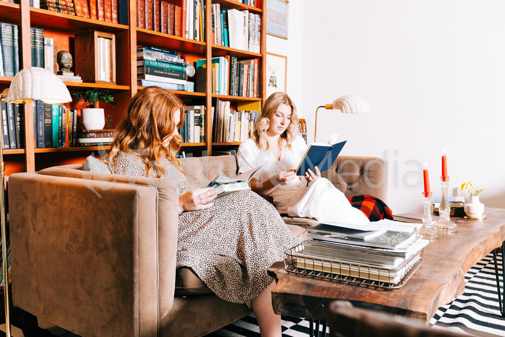 Women Reading Books large preview