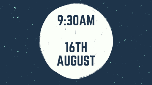 9 30Am Service 16Th August