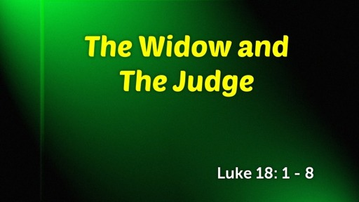 The Widow and The Judge