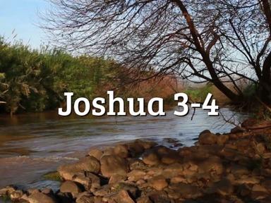 Joshua 3-4