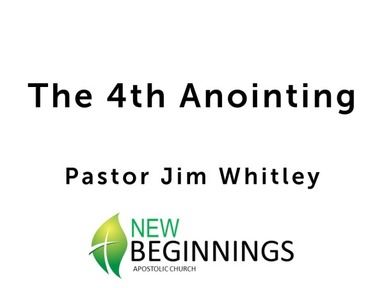 The 4th Anointing-Sun 8/16