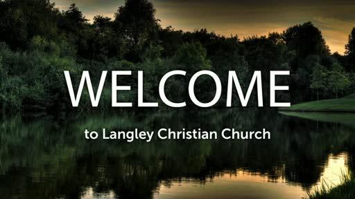 Sunday Worship Service, August 16, 2020
