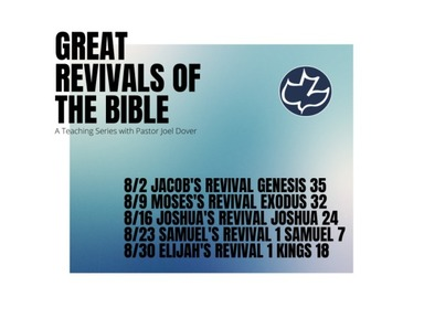 Joshus's Revival Joshua 23-24