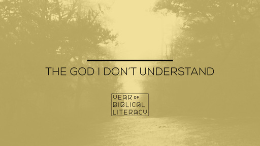 The God I Don't Understand — Understanding Love, Sex, & Marriage