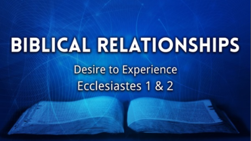 Biblical Relationships