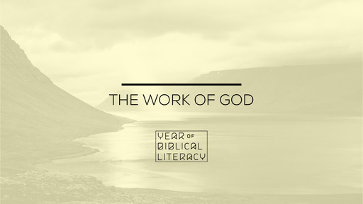 The Work of God — A Work In People