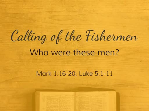 The Calling of the Fishermen