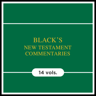 Black's New Testament Commentary | BNTC (14 vols.)
