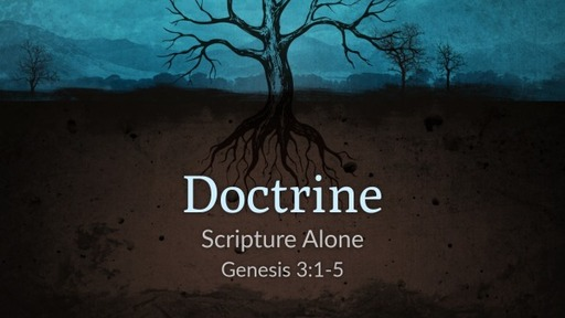 Doctrine (Scripture Alone)