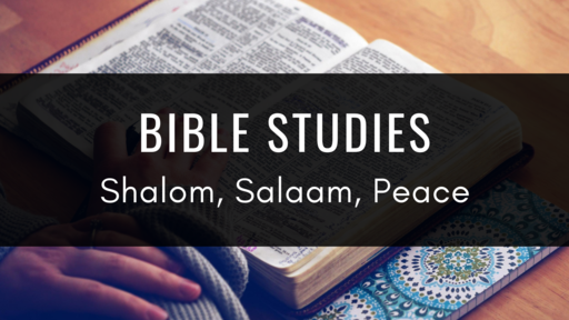 Shalom, Salaam, Peace
