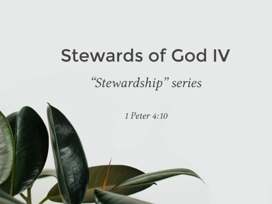 Stewards of God IV