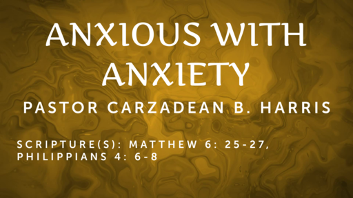 ANXIOUS WITH ANXIETY