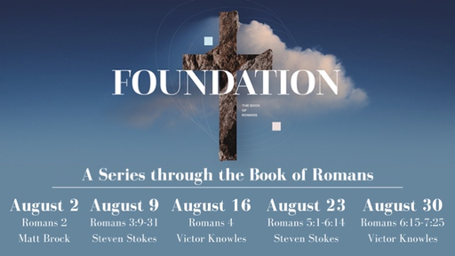Romans; The Work of the Cross