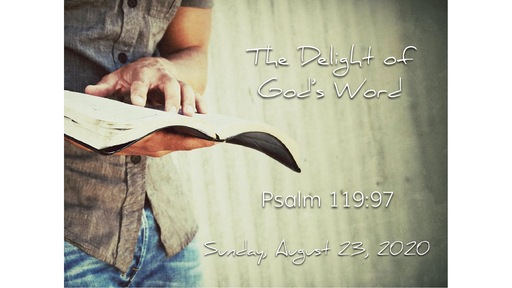 The Delight of God's Word