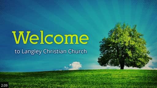 Sunday Worship Service, August 23, 2020