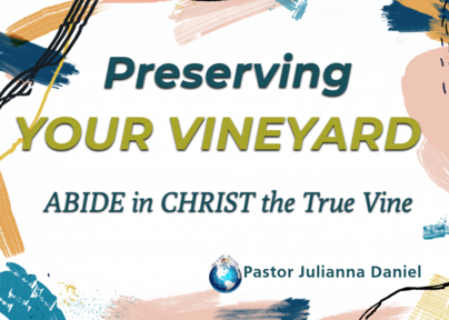Preserving your vineyard