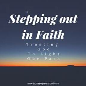 The Miracle of Stepping out in Faith