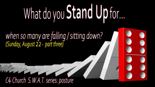 Spiritual Warfare, Posture, What Do You Stand For, Part 3, Sunday August 23, 2020