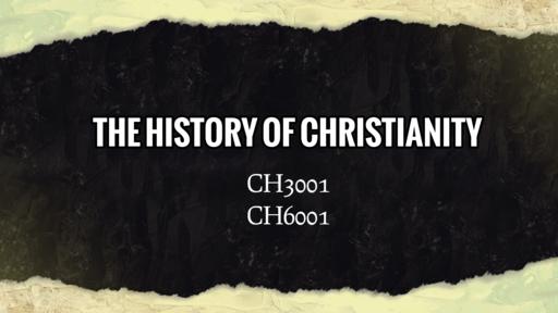 History of Christianity (Beginnings:4)