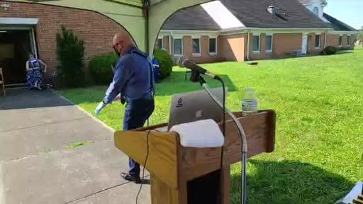 June 7, 2020 Worship Service at Liberty Spring Christian Church