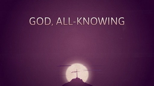 God, all-knowing