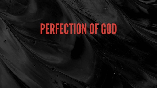 Perfection of God