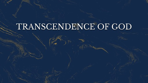 Transcendence of God