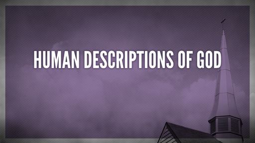 Human descriptions of God