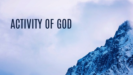 Activity of God