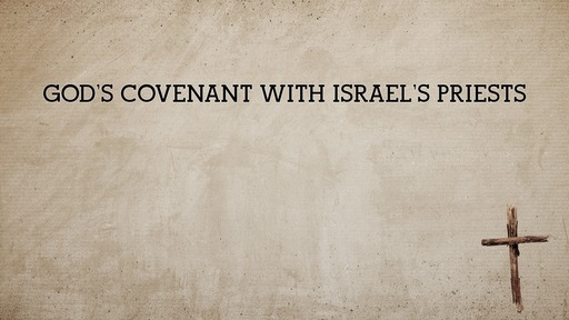 God's covenant with Israel's priests