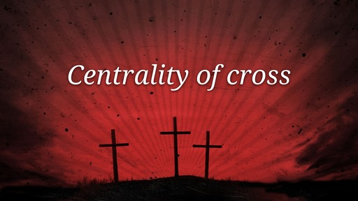 Centrality of cross