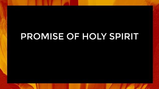 Promise of Holy Spirit