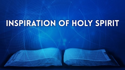 Inspiration of Holy Spirit