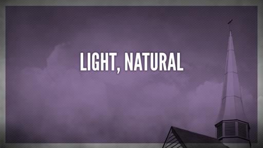 Light, natural