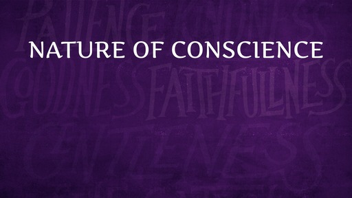 Nature of conscience