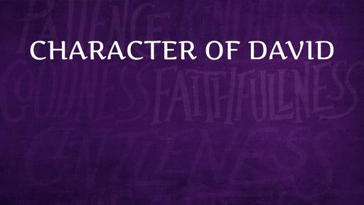 Character of David