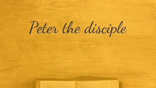 Peter the disciple
