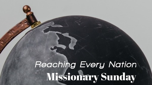 Missionary Sunday August 2020