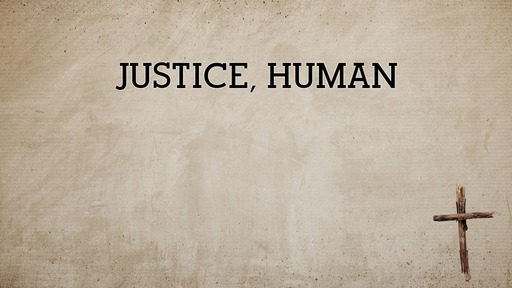 Justice, human
