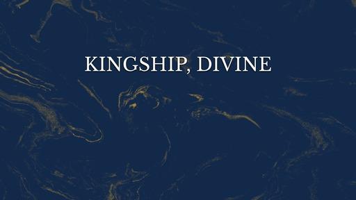 Kingship, divine