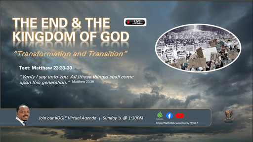 THE END AND THE KINGDOM, by Mercury Thomas-Ha, PhD  |  Sunday, 083020 @ 1:30 PM