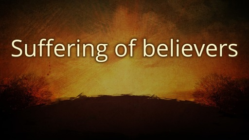 Suffering of believers