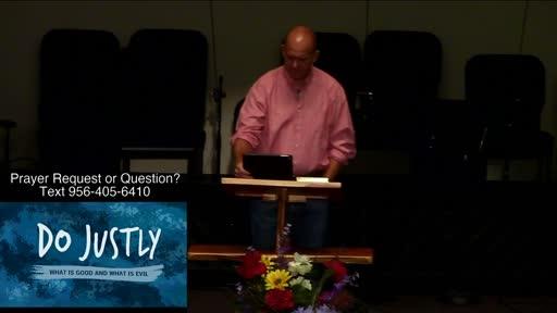 Not Political  Benjamin Karner / General  Do Justly / Justice; Repentance; Weakness / Isaiah 1:16–20