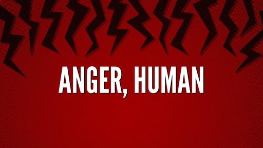 Anger, human
