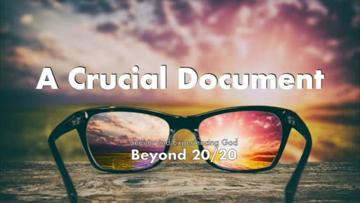 A Crucial Document-8/30/20