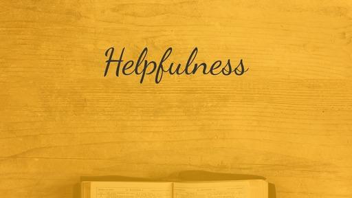 Helpfulness