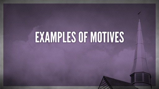 Examples of motives