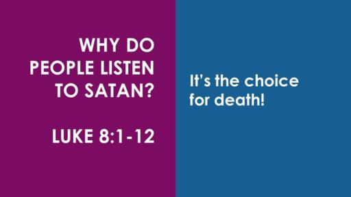 Aug 30, 2020 Sun am Luke 8:1-12